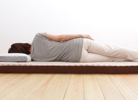 寝返りを補助する機能(寝返り促進)